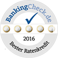 Ikano Bank Siegel Bankingcheck Ratenkredit 2016