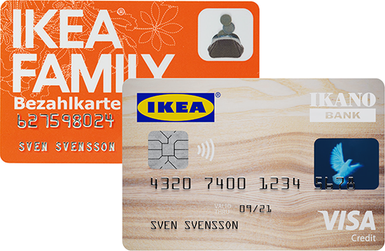 Deine Ikea Family Bezahlkarte Ikano Bank