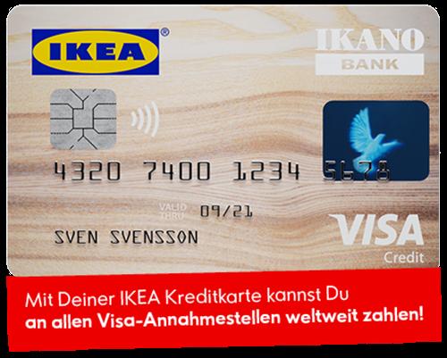 Ikano Bank Kreditkarte